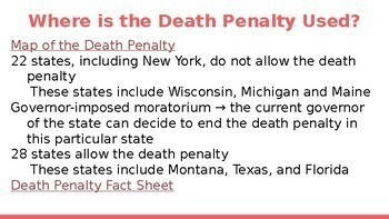 Death Penalty Unit ( 7 days)