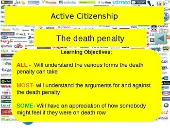 Death Penalty in the USA and around the World Collection of resources
