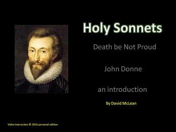 Death be Not Proud by John Donne