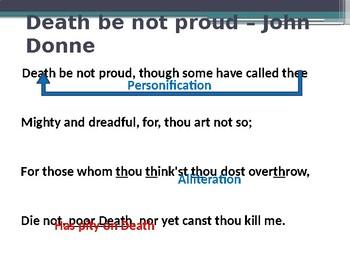 Death be not proud - John Donne poem analysis