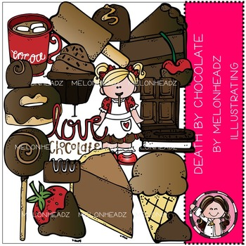 Melonheadz: Death by Chocolate clip art - COMBO PACK