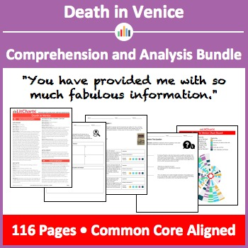 Death in Venice – Comprehension and Analysis Bundle