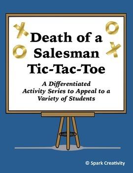 Death of a Salesman Differentiated Activity Series, High School ELA