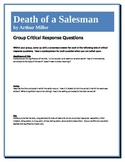 Death of a Salesman - Miller - Group Critical Response Questions