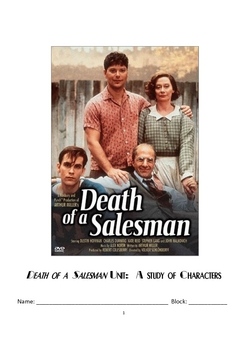 Death of a Salesman Student Packet With Teacher Resources