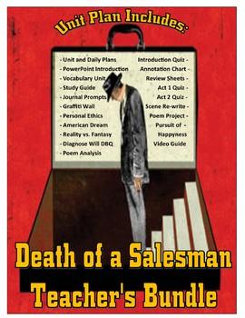 Death of a Salesman Teacher's Bundle Unit Plan