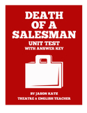 Death of a Salesman Unit Test With Answer Key