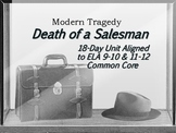 Death of a Salesman Unit (18-Days): Complete 30-Page Unit with ELA Common Core