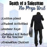 Death of a Salesman Unit (Complete No Prep)