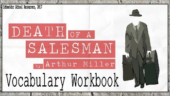 Death of a Salesman: Vocabulary Workbook Assignment