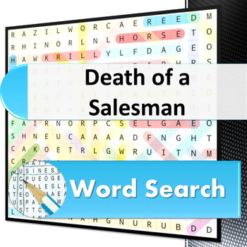 Death of a Salesman - Word Search Puzzle