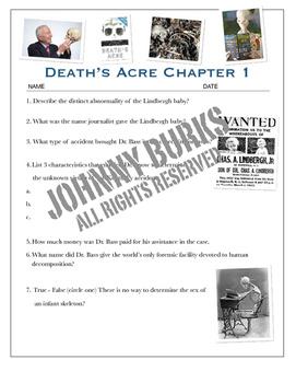 Death's Acre Tests Bundled w/keys