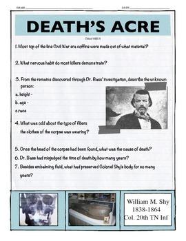 Death's Acre Chapter 5 w/key