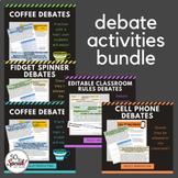 Debate Activities Bundle