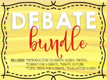 Debate Bundle