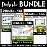 Debate Graphic Organizers | Debate Topics | Argumentative Writing | BUNDLE