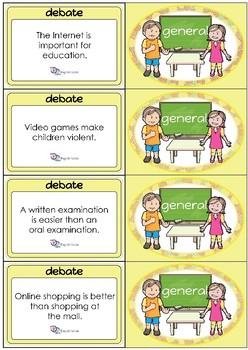 Debate Cards - General