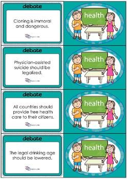 Debate Cards - Health
