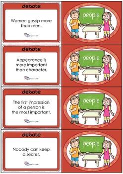 Debate Cards - People