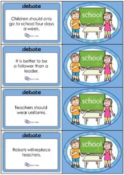 Debate Cards - School 2