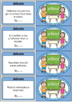 Debate Cards - School 2