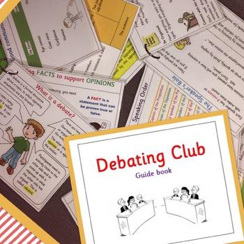 Debate Club guide book