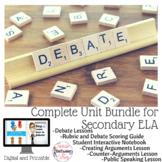 Debate Complete Unit Bundle - Digital and Printable