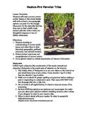 Debate Current Event-Peruvian Tribe