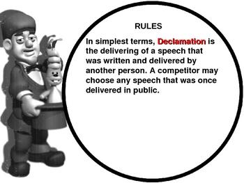 Debate: Declamation