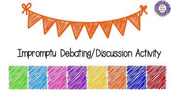 Debate Discussion Cards
