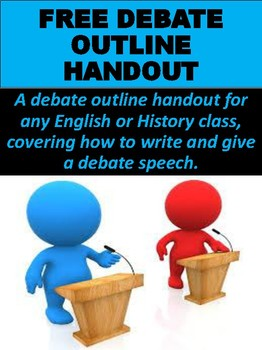 FREE Debate Outline Handout