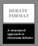 Debate Format, With Form and Example