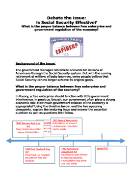 Debate: Is Social Security Effective? free enterprise? or government regulation?
