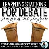 Debate Learning Stations