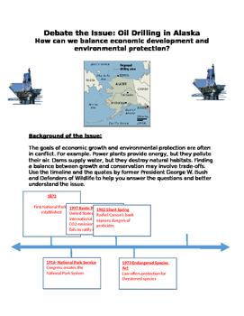 Debate: Oil Drilling in Alaska: Balance of econ dev. & env