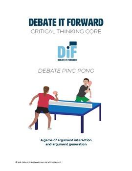 Debate Ping Pong