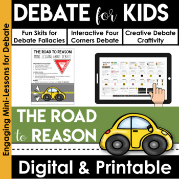 Debate for Kids | Debate Organizer | Argumentative Writing | Reasoning