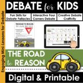 Debate Graphic Organizer | Persuasive Writing | Opinion Writing