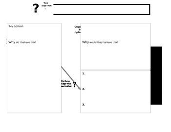 Debate Processing Worksheet