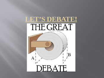 Debate Rubric and Parameters Presentation