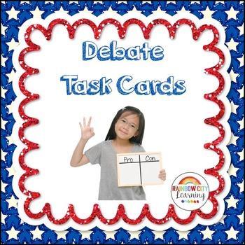 Debate Task Cards