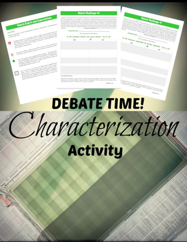 Characterization & Argument: Literary Elements & Analysis {COMMON CORE}