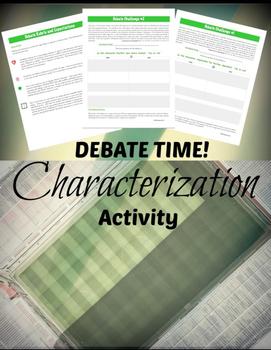 Characterization & Argument: Literary Elements & Analysis
