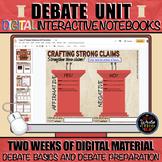 Debate Unit: Digital Interactive Notebooks for Argumentati