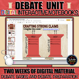 Debate Unit: Digital Interactive Notebooks for Argumentati