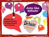 Debate and Argumentative Writing Rubric