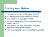 Debate with Vocabulary Powerpoint