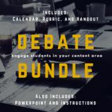 Debates Bundle: Persuasive and Research Based Activity