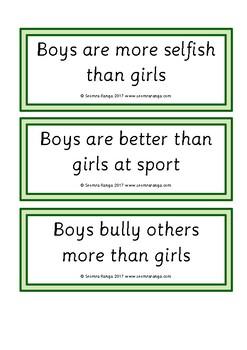 Debates - Gender Topics