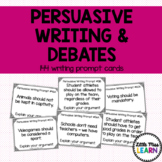 Debates & Persuasive Writing Prompt Cards